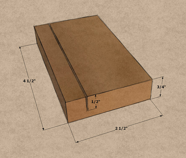 The ideal sanding block