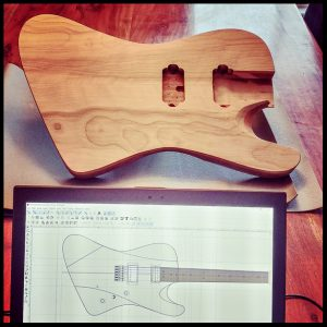 Inkscape and physical guitar