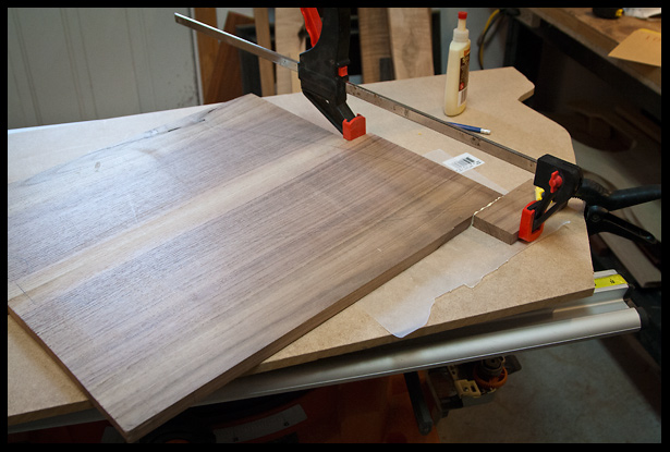 gluing on an extension