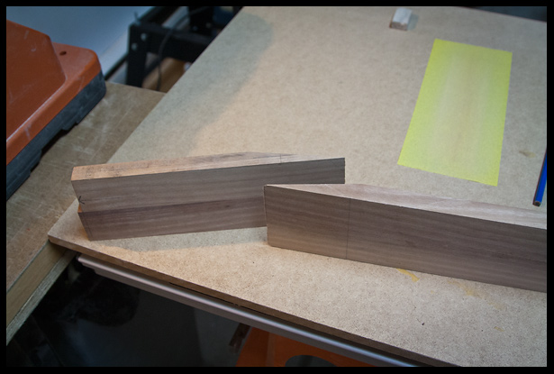 scarf joint cut