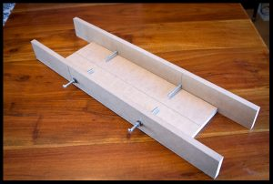 Truss rod channel routing jig