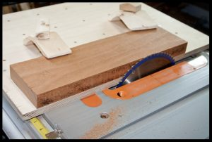 Cleaning the edges for jointing