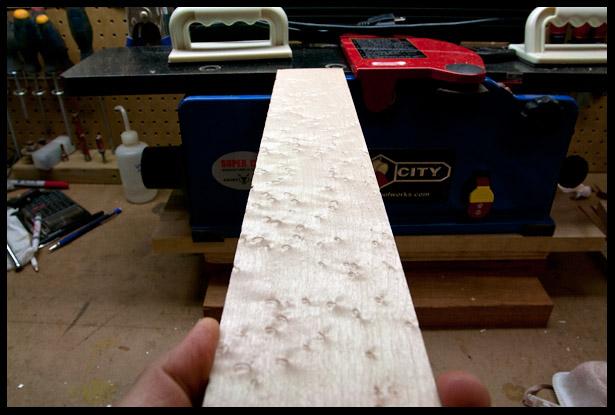 Fingerboard blank