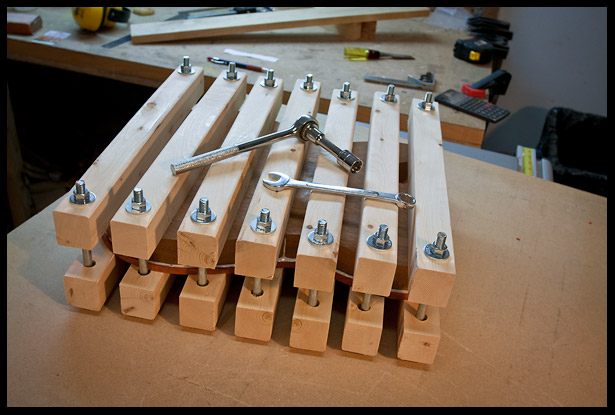 Clamps applied