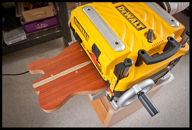 Passing the body in the planer