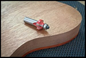 Round over router bit