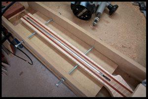 Truss rod channel