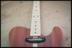 Neck pickup mock up