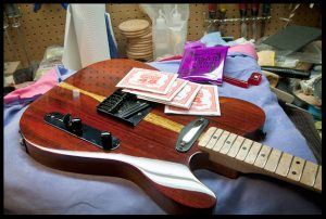 Installing strings!