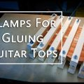 clamping system for gluing guitar tops
