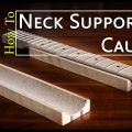 how to make a neck support caul