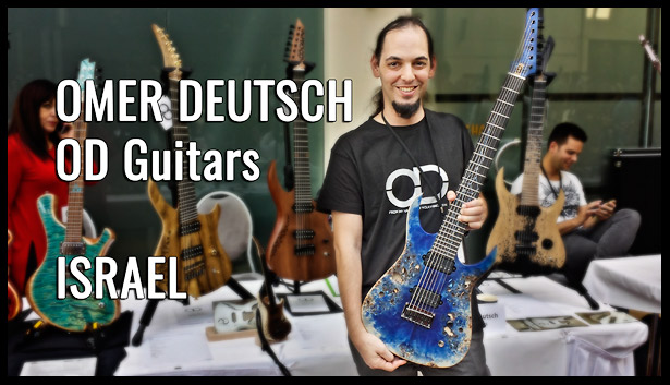 OD Guitars, Omer Deutsch, ISRAEL