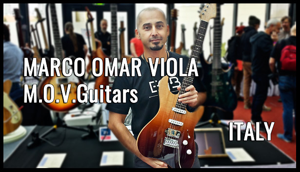 M.O.V.Guitars, Marco Omar Viola, ITALY