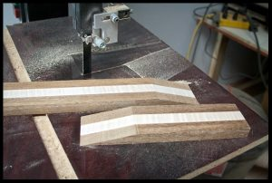 The scarf joint pieces