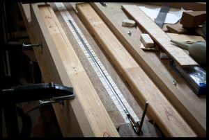Check the access to the truss rod