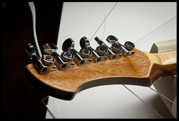 custom esp hetfield vulture guitar build diary project electric guitar. Black Bedroom Furniture Sets. Home Design Ideas
