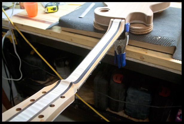 Fine tuning the back of the neck