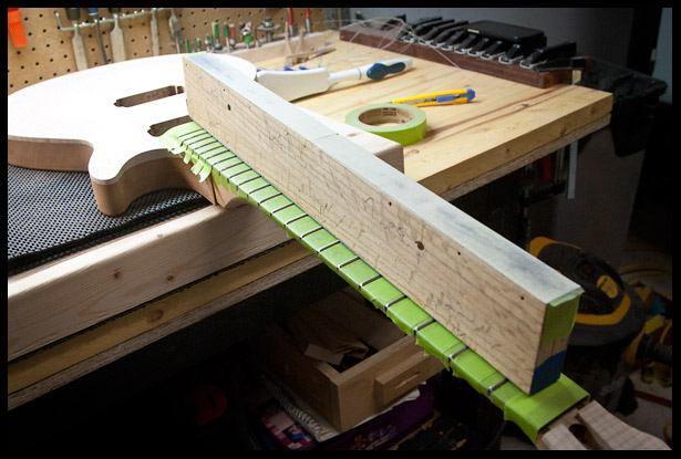 leveling the frets