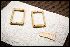 making and oiling the pickup rings