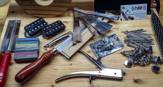 Guitar building supplies